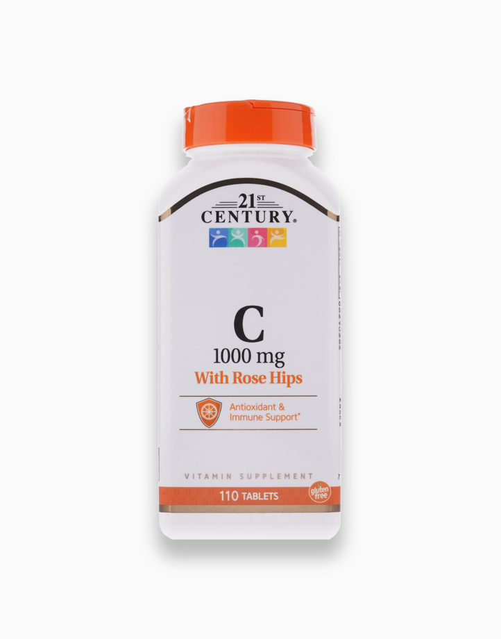 Vitamin C with Rose Hips (1000 mg) by 21st Century