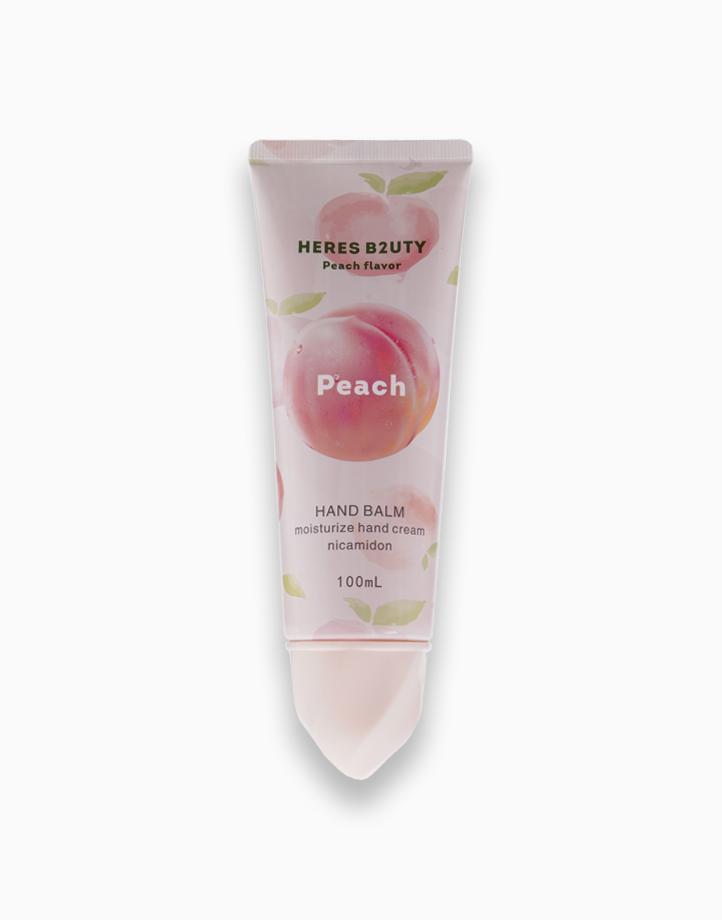 Peach Moisturizing Hand Cream with Nicotinamide by Here's B2uty