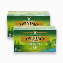 Green Tea and Mint 25s (Bundle of 2) by Twinings