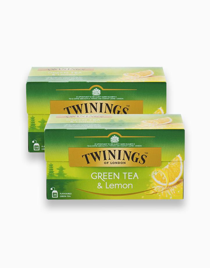 Green Tea and Lemon 25s (Bundle of 2) by Twinings