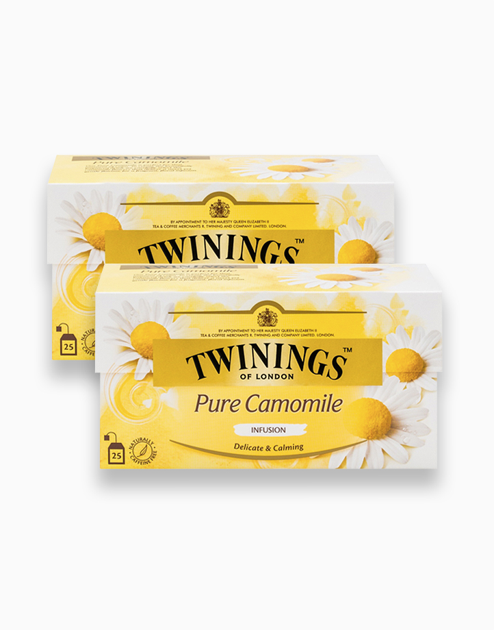 Pure Camomile Infusion 25s (Bundle of 2) by Twinings