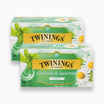 Camomile & Spearmint Infusion 25s (Bundle of 2) by Twinings