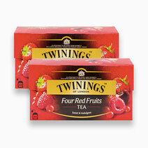 Twinings four red fruits tea bundle