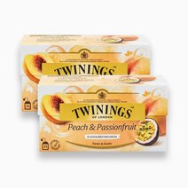 Peach & Passionfruit 25s (Bundle of 2) by Twinings