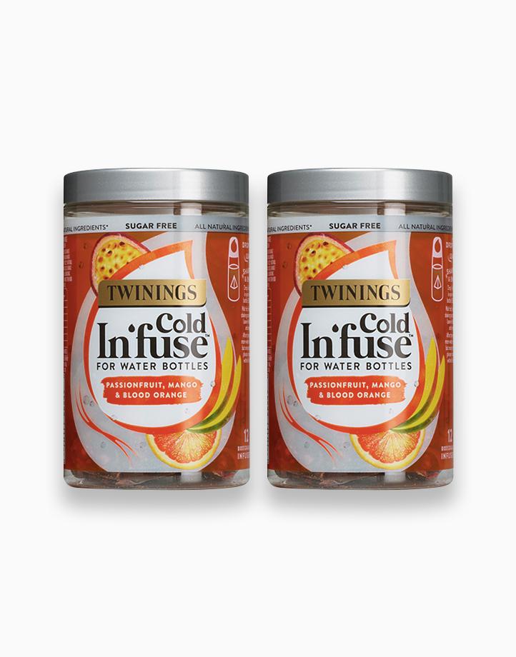 Cold Infuse Passionfruit, Mango & Blood Orange Jar 12s (Bundle of 2) by Twinings