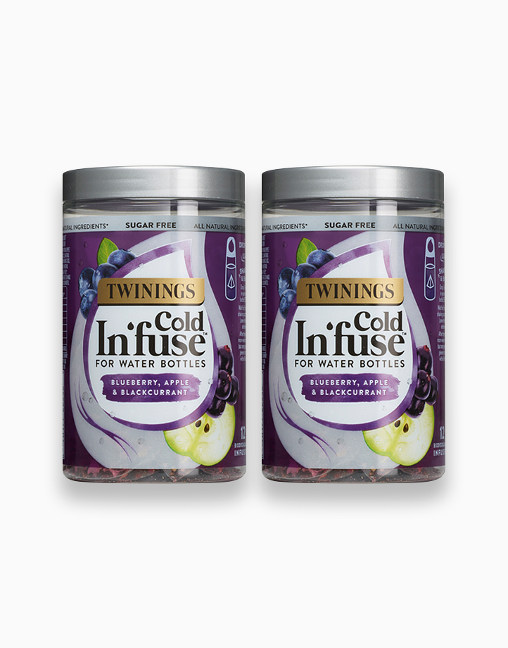 Cold Infuse Blueberry, Apple & Blackcurrant Jar 12s (Bundle of 2) by Twinings