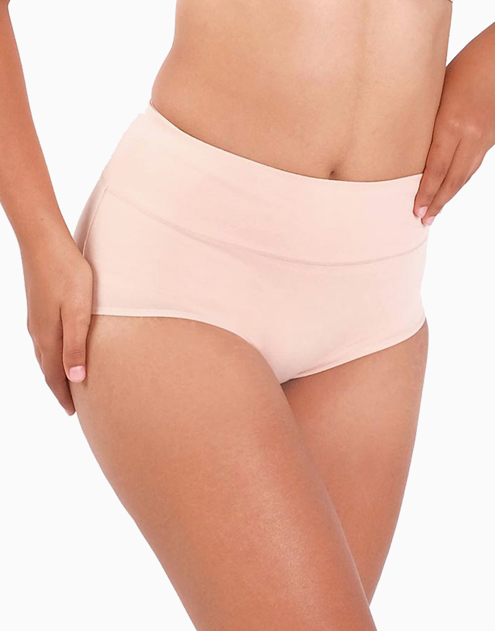 Belly Bikinis in Basic (Set of 3 High Rise Control Panties) by Jellyfit | Small