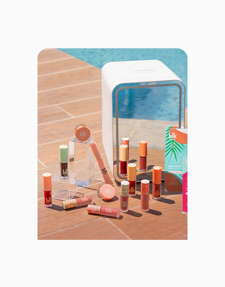 Fresh Sunkissed Travel-Ready Beauty Fridge Set by BLK Cosmetics