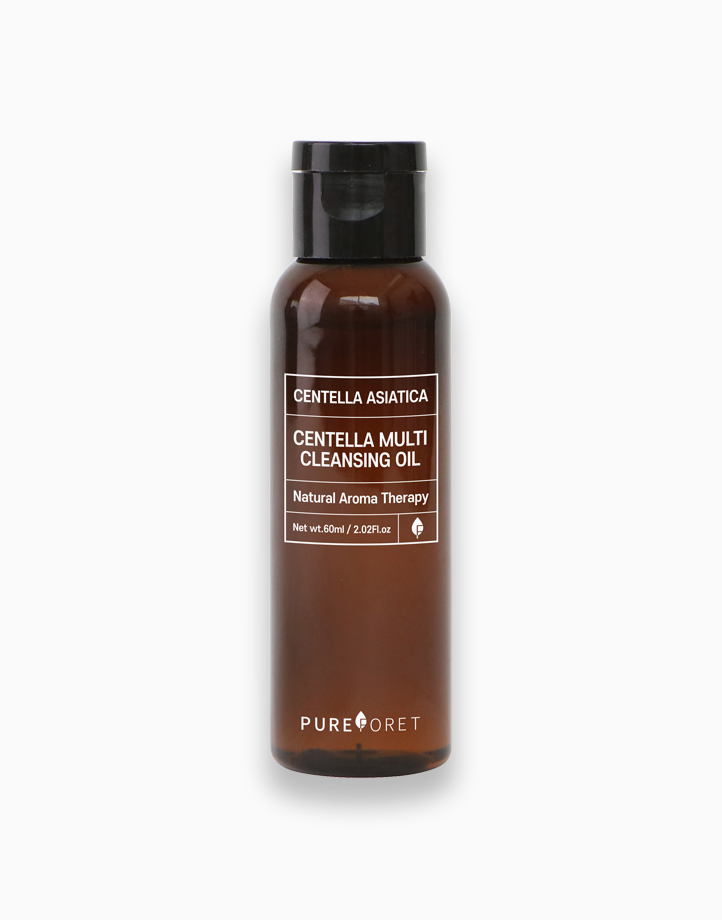 Centella Cica Multi Cleansing Oil (60ml) by Pureforet