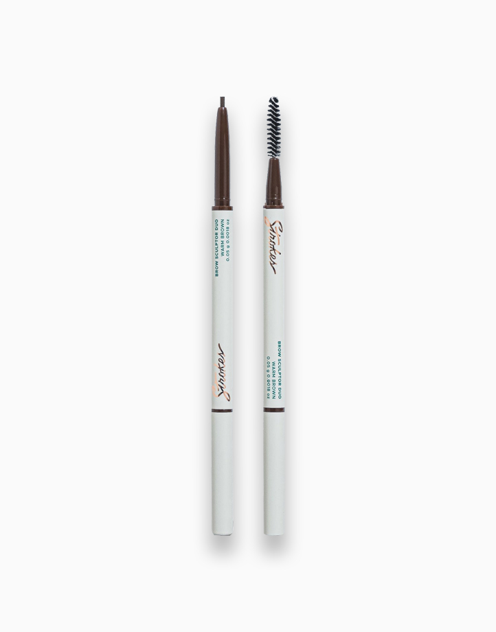 Brow Sculptor Duo by Strokes Beauty Lab | Warm Brown