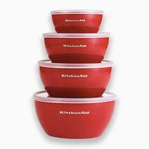 Kitchenaid prep bowls set of 4 cups   empire red 1