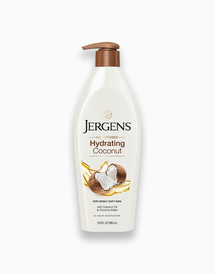 Oil-Infused Hydrating Coconut Moisturizer by Jergens