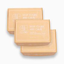 Keep Clean and Calm Oatmeal Soap (x3) by Ellana Mineral Cosmetics