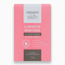 Illuminating Brightening Cloud Soap for Face and Body (100g) by Organic Skin Japan
