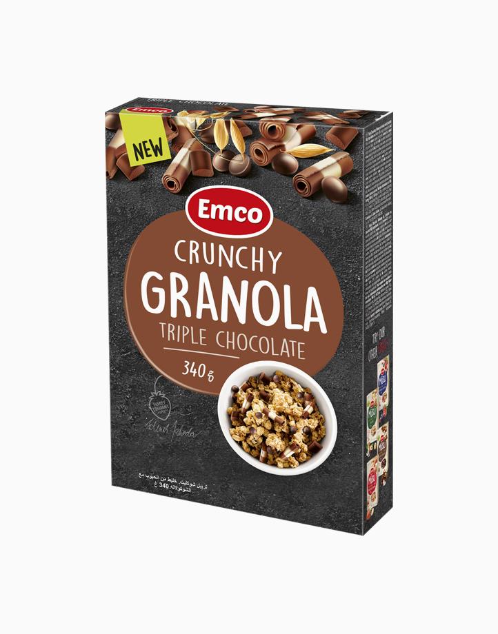 Emco Crunchy Granola Triple Chocolate (340g) by Musli