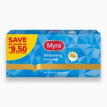 Re myra whitening beauty soap 90g x 3 1