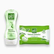 Ph care daily feminine hygiene natural protection set