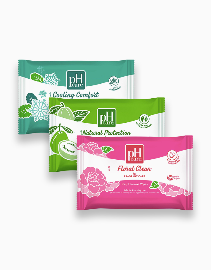 Daily Feminine Wipes Trial Pack by pH Care®