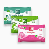 Ph care daily feminine wipes trial pack