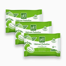 Ph care daily feminine wipes natural protection 10s x 3 packs