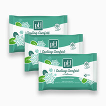 Ph care daily feminine wipes cooling comfort 10s x 3 packs