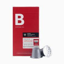B coffee co intenso cappuccino coffee capsules 10