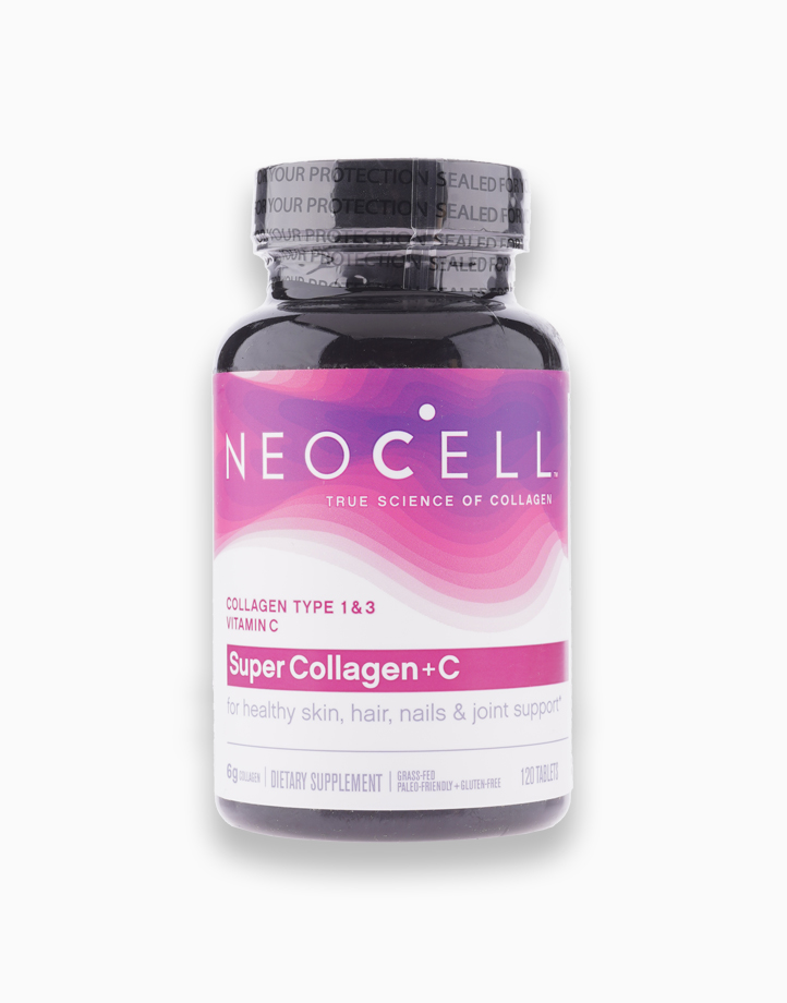 Neocell Super Collagen+C (120 Tablets) by Neocell