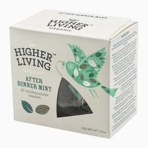 Re higher living organic after dinner mint %2820 teapees%29 40g