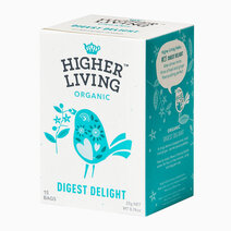 Re higher living organic digest delight %2815 bags%29 22g