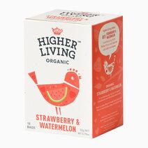 Re higher living organic strawberry watermelon %2815 bags%29 22g