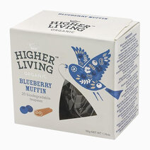 Re higher living organic blueberry muffin %2820 teapees%29 50g