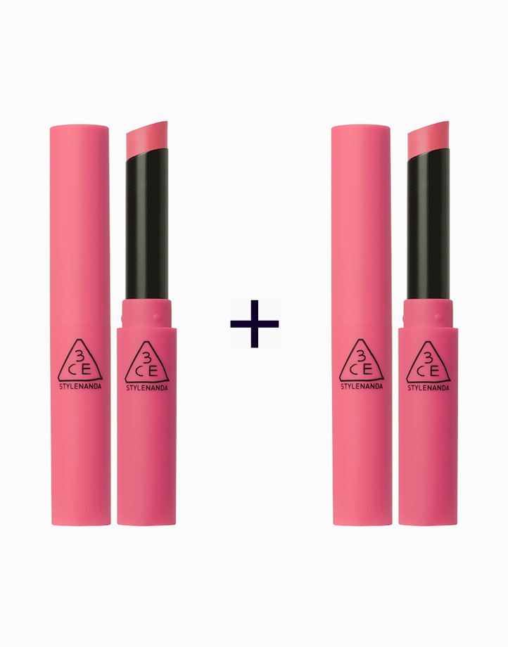 Slim Velvet Lip Color (Buy 1, Take 1) by 3CE (3 Concept Eyes)   Hold On
