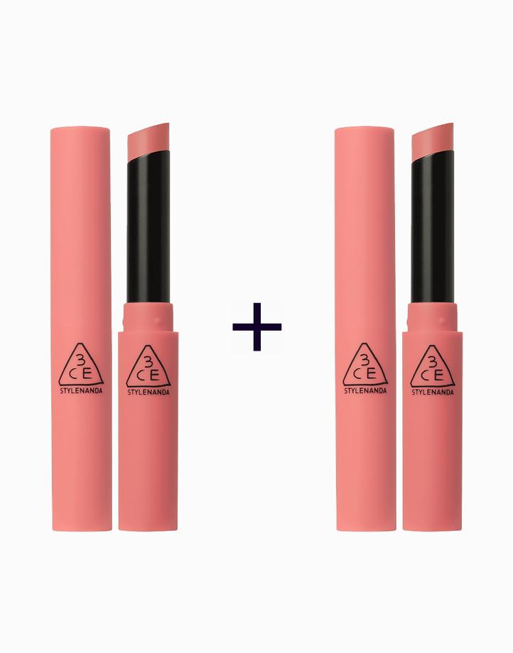 Slim Velvet Lip Color (Buy 1, Take 1) by 3CE (3 Concept Eyes)   Peach Play