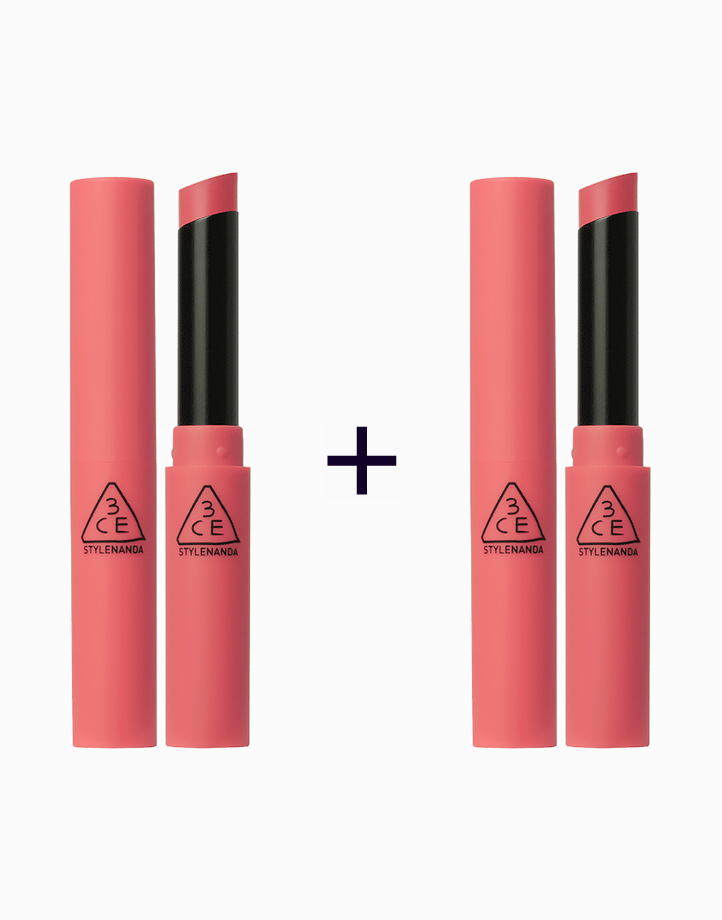 Slim Velvet Lip Color (Buy 1, Take 1) by 3CE (3 Concept Eyes)   Muse Filter