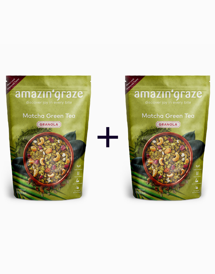 Matcha Green Tea Granola (250g) (Buy 1, Take 1) by Amazin' Graze