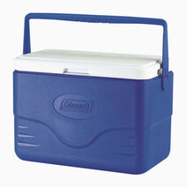 Re coleman 28 quart thermozone insulated cooler   blue