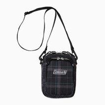 Re coleman mini travel pouch bag   black check