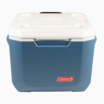 Re coleman 50 quart wheeled cooler   blue