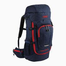 Re coleman expandable power loader 33 hiking backpack   navy blue