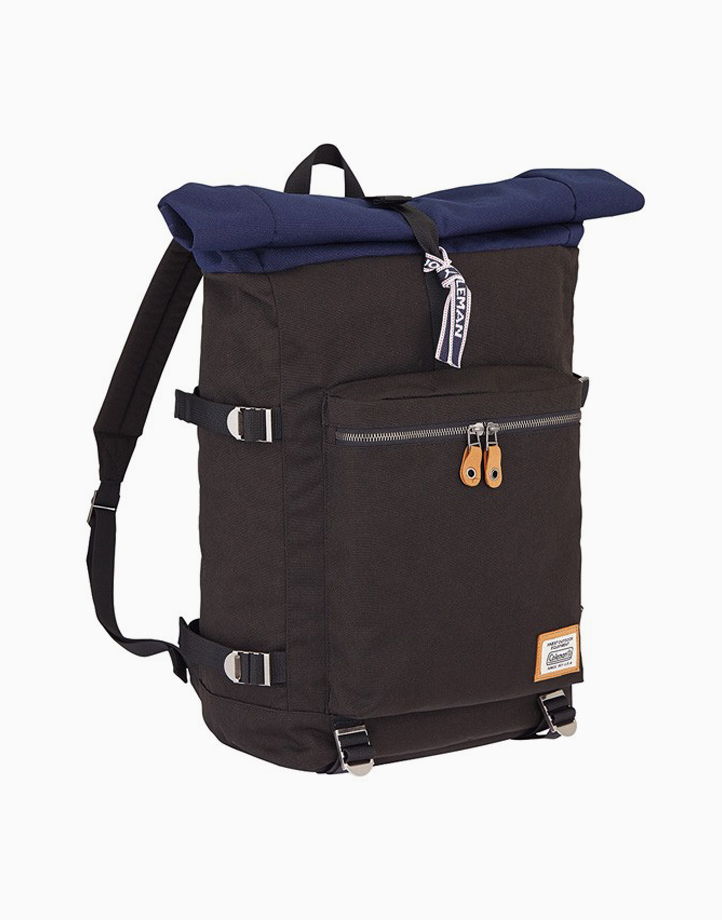 Journey Roll Top Backpack by Coleman   Black