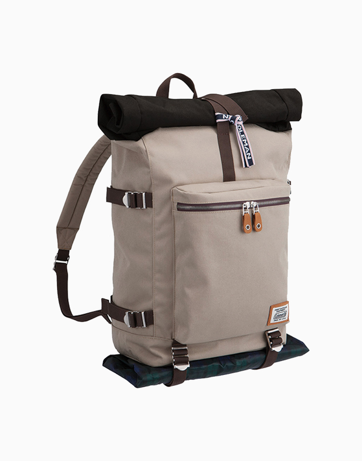 Journey Roll Top Backpack by Coleman   Sand
