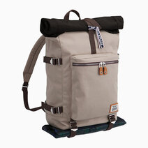 Re coleman journey roll top backpack   sand