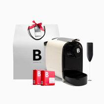 B coffee co. gift set   white