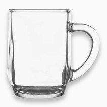 Thailand Premium Clear Glass Mug - 300ml/10oz (Set of 6) by Sunbeams Lifestyle