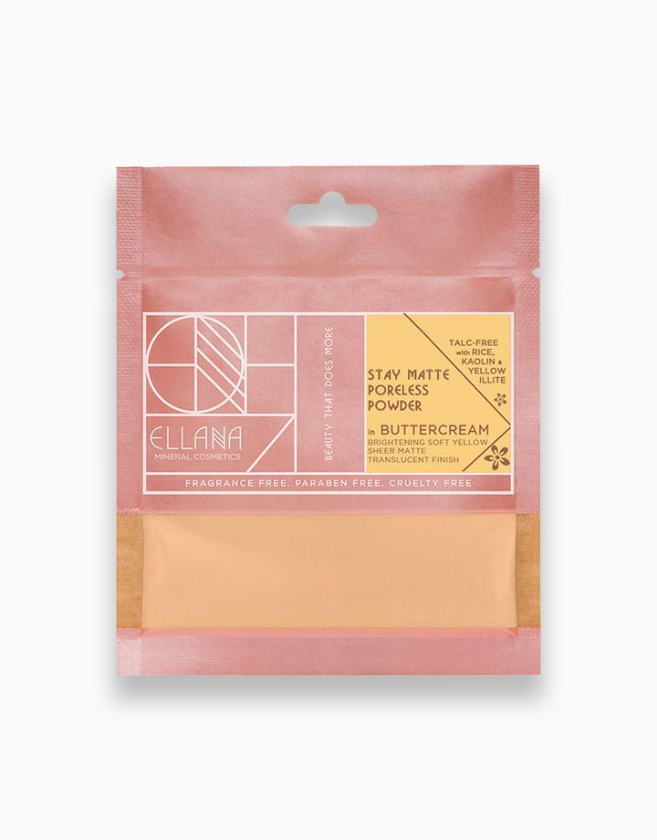 Stay Matte Poreless Powder Refill by Ellana Mineral Cosmetics   Buttercream