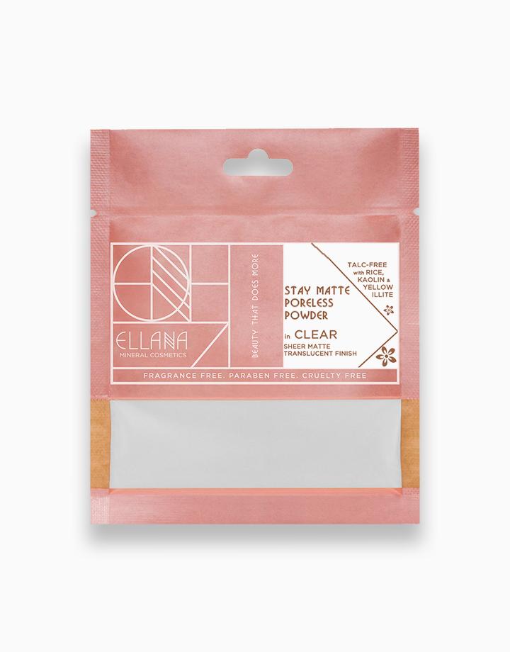 Stay Matte Poreless Powder Refill by Ellana Mineral Cosmetics   Clear