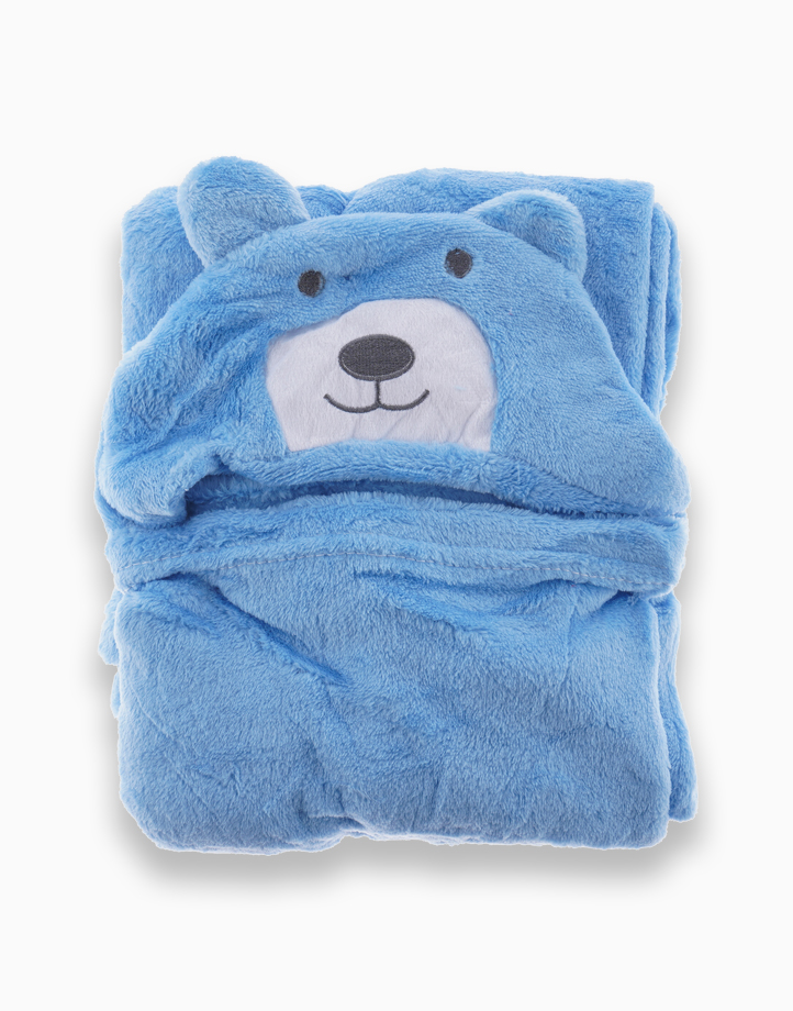 Towel Blanket by Gubby and Hammy | Blue Bear