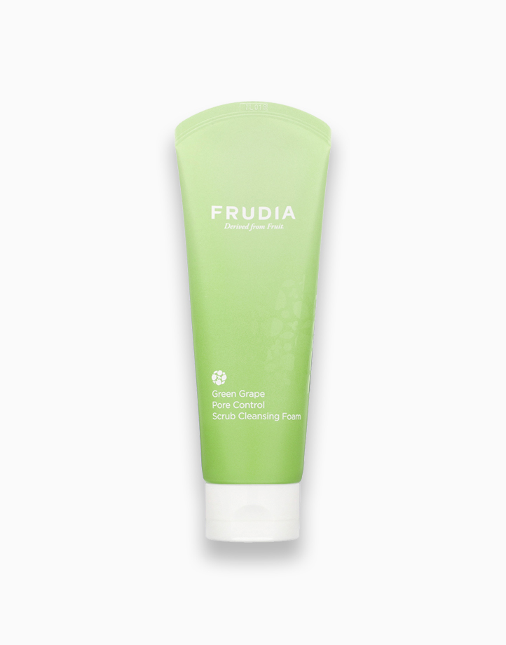 Green Grape Pore Control Scrub Cleansing Foam by Frudia