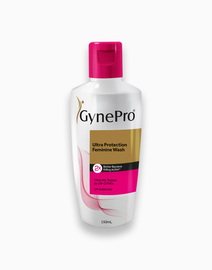 Ultra Protection Feminine Wash 150ml (Pack of 2) by GynePro