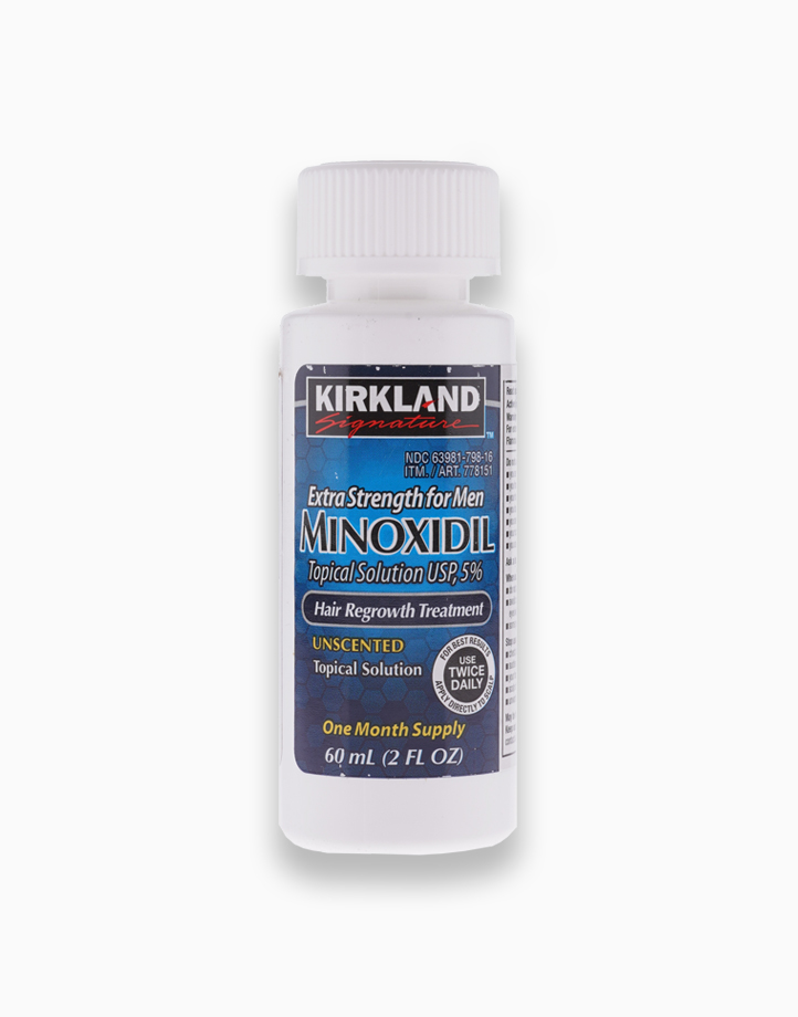 Signature Hair Regrowth Treatment Extra Strength for Men - 5% Minoxidil Topical Solution (2floz) by Kirkland